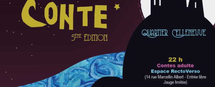 Nuit du conte – 13-14 décembre 2014 – association Odette Louise – Montpellier