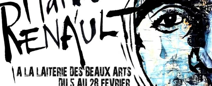 Exposition de Mathieu Renault à la Laiterie des Beaux-arts – Montpellier – 5 au 28/02