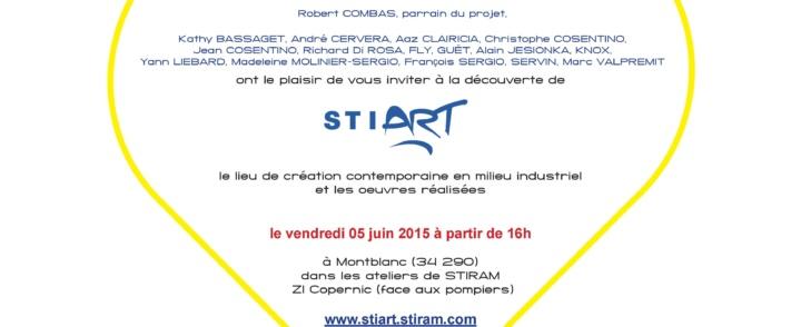 A la découverte de STiART : lieu de création contemporaine en milieu industriel – 5 juin 2015 – Montblanc