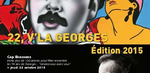 22, v'la Georges ! Festival autour de Georges Brassens – 22 octobre 2015