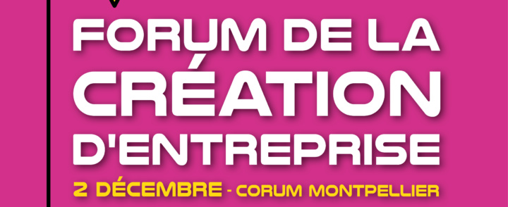 Context'art participe au Forum de la création d'entreprise du 2 décembre – Venez nous rencontrer!