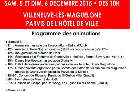 Kym Indyiah fashion truck au marché de noël de Villeneuve lès Maguelone – 5/6 décembre 2015