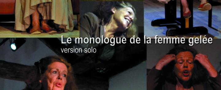Le monologue de la femme gelée par Violaine Vérité – Espace RectoVerso Le 11 mars à 20h