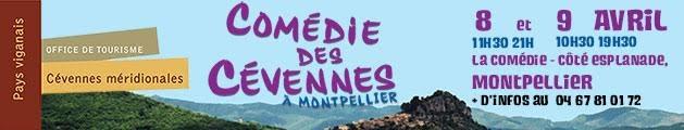 La comédie des Cévennes – Participation de Léandre Courty – 8/9 avril 2016 – Montpellier