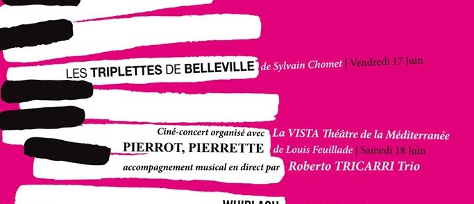 Le cinéma pour tous – Musique ! – Projections gratuites en plein air – Parc de la guirlande – 17 juin – 2 juillet 2016 – Montpellier