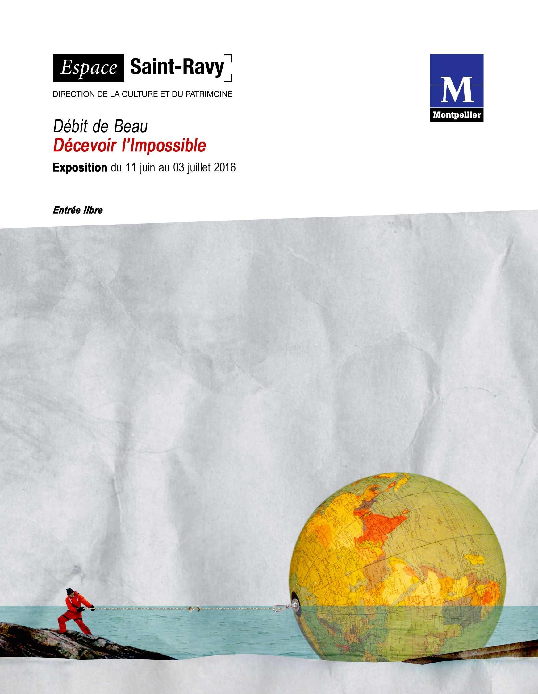 """Vernissage """"Décevoir l'impossible"""" – DdB – Espace St-Ravy – 10 juin 2016"""