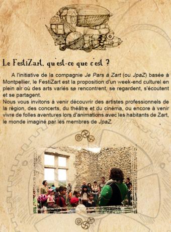 Festival FestiZart – campagne de financement participatif -Kisskissbankbank