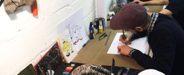 Process : Espace de co-working pour créatifs – ateliers – résidence au coeur de Montpellier
