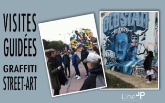 Visites guidées Graffiti – street-art par Line Up
