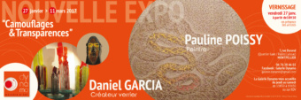 Vernissage expo Pauline Poissy – Galerie Dynamo – 27/01/17 – Montpellier