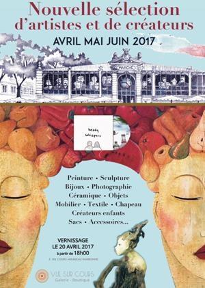 Vernissage Vue sur cours – Narbonne – 20 avril 2017 – 18h