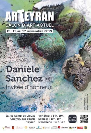 [ARTEYRAN] Danièle Sanchez, invitée d'honneur du salon