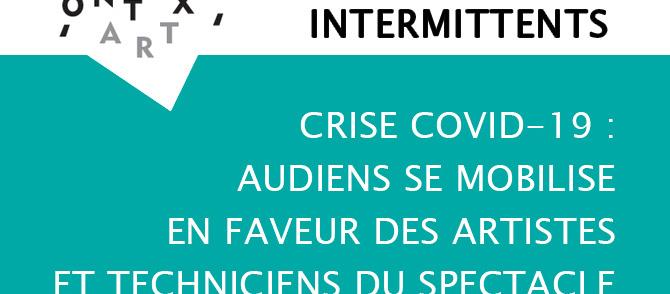 [SPÉCIAL INTERMITTENTS – Crise Covid-19]
