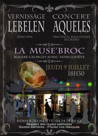 [VERNISSAGE Expo-Concert à LODÈVE]