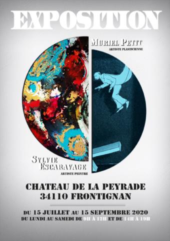 [EXPOSITION] La plasticienne Muriel Petit et la peintre Sylvie Escaravage exposent à Frontignan