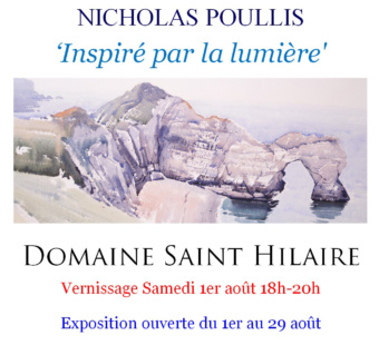 """[VERNISSAGE EXPO] de l'artiste Nicholas Poullis """"Inspiré par la lumière"""""""